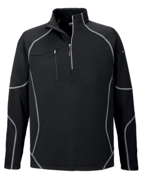1/4 Zip Brushed Back Performance Dry Sirt