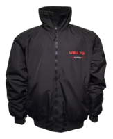 USA 76 SPLASH JACKET BLACK