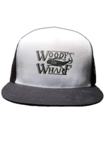 WOODY'S WHARF SURFER TRUCKER HAT