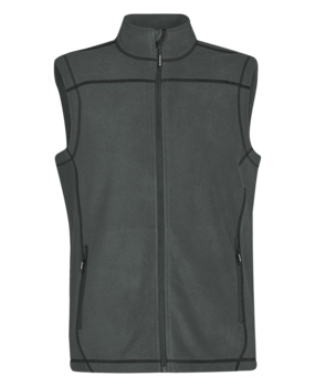 FLEECE CONTRAST STITCH VEST