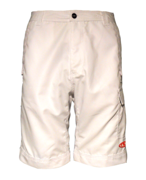 Techno Shorts w/ Cordura Seat Patch White