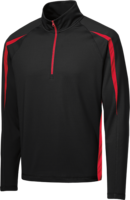1/4 ZIP STRETCH UV DRY SHIRT