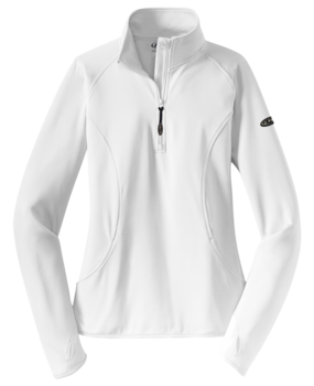 1/4 Zip Wicking Stretch Performance Dry Top