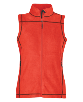 30139W FLEECE CONTRAST STITCH VEST