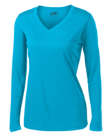 L/S V-NECK DRY PERFORMANCE TOP